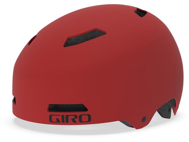 Giro Quarter FS Helmet matte dark red